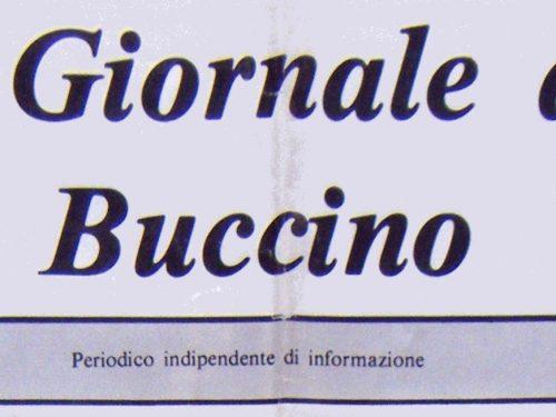 IL GIORNALE DI BUCCINO – LUGLIO 1983