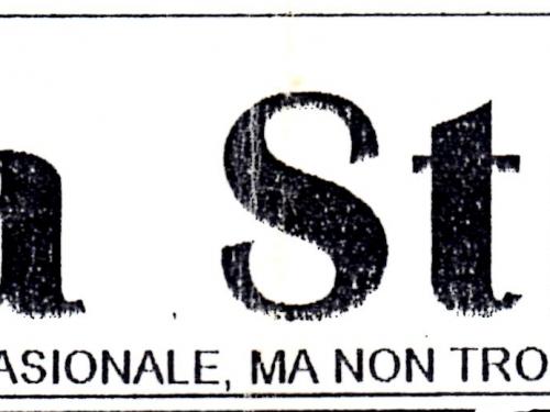 Sulla Strada – Numero 00 (1994)