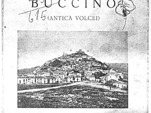 Ernesto Grieco, Buccino – Antica Volcei (1959)